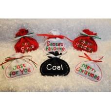 Santa Treat Sacks In the Hoop