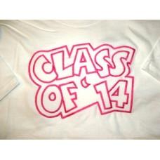 Exclusive Class of '14 Double Applique