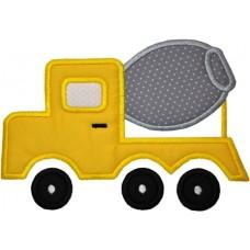 Cement Concrete Truck Construction Applique