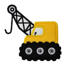 Crane Construction Applique