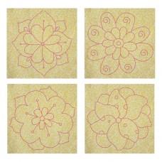 Spring Flower Quilt Blocks