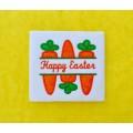Split Easter Carrots Applique