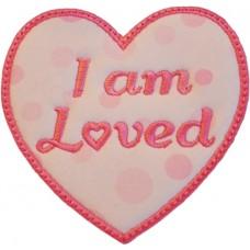 FREE - I am Loved Applique