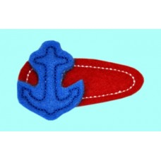 Fun Felts Anchor Snap Clip
