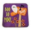 Halloween Ghost Mailbox Applique