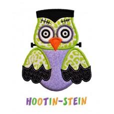 Frankenstein Owl Applique