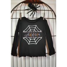 Split Spider Web Applique