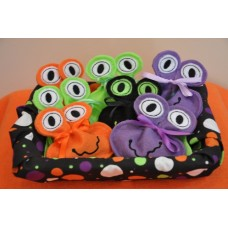 Silly Monster Candy Treat Sacks In the Hoop