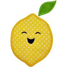 Happy Fruit Lemon Applique