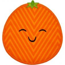 Happy Fruit Orange Applique