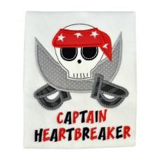 Heartbreaker Skull Applique