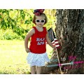 Exclusive JULY 4TH Double Applique