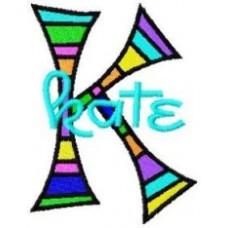 Kaleidoscope - Monogram Font 54