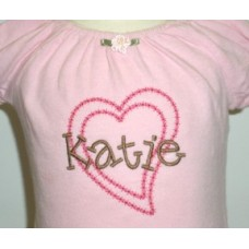 Kiddo Embroidery Font