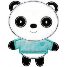 Sweet Panda Boy Applique