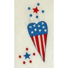 Patriotic Heart FREEbie