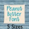 Peanut Butter Font