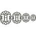 Elegant Scallop Monogram