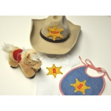 Little Sheriff Monogram PLUS MTM Freestanding Badges