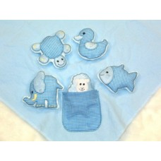 Simply Baby Snuggly Toys & BONUS Applique Designs