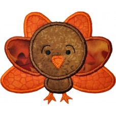 Gobble Turkey 2 Applique