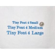 Tiny Font 4
