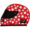 Helmet Applique  Motorcycle Race Car