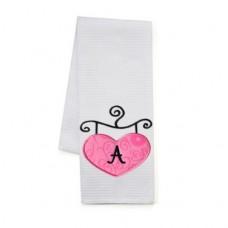 Heart Boutique Sign Applique Monogram