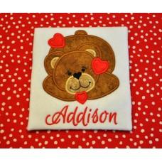 Bear Love Applique